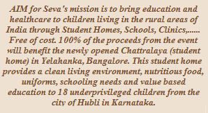 Charity of the Month- Aim For Seva